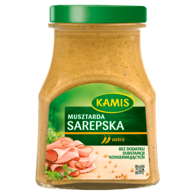 Sarepska table mustard Kamis 185g