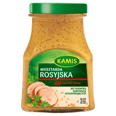 Rosyjska Russian mustard Kamis 180g