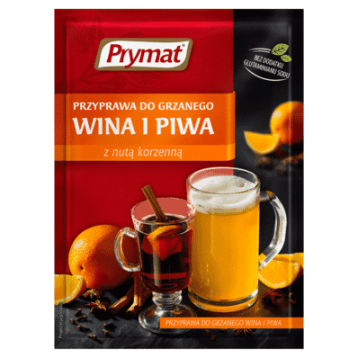 Mulled wine and beer spice mix Prymat 40g