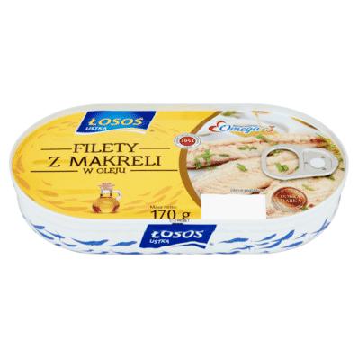 Mackerel fillet in oil Losos 170g
