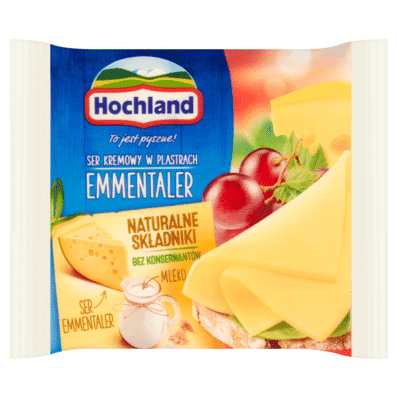 Emmentaler cream cheese Hochland 130g