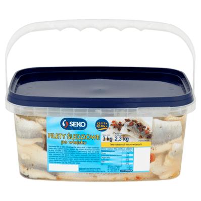 Herring / Wiejskie herring fillets in oil Seko 3/2.5kg