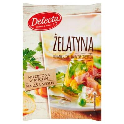 25x Żelatyna spożywcza Delecta 50g
