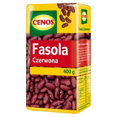 Fasola Czerwona Cenos 400g