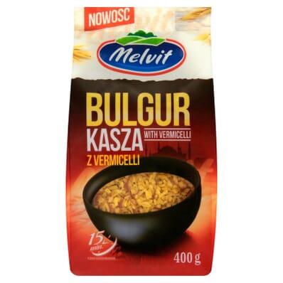 Kasza Bulgur Z Vermicelli Melvit 400g Kaufen