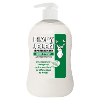 Savon liquide hypoallergénique peau sensible Bialy Jelen 500ml