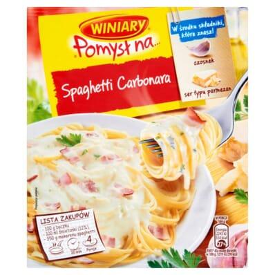 Fix Spaghetti Carbonara spice mix Knorr 45g