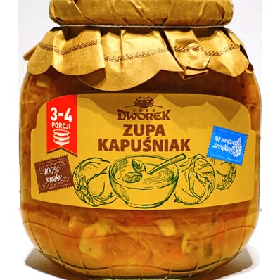 Zupa Kapuśniak Dworek 680g