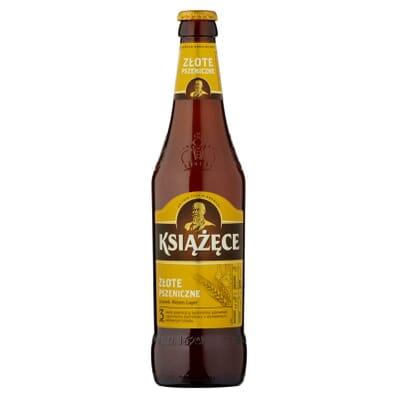 Piwo Książęce Pszeniczne butelka 500ml