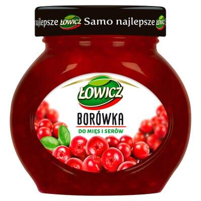 Borówka do mięs i serów Łowicz 230g