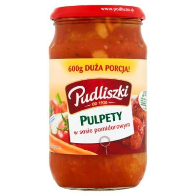 Danie Pulpety w sosie pomidorowym Pudliszki 600g