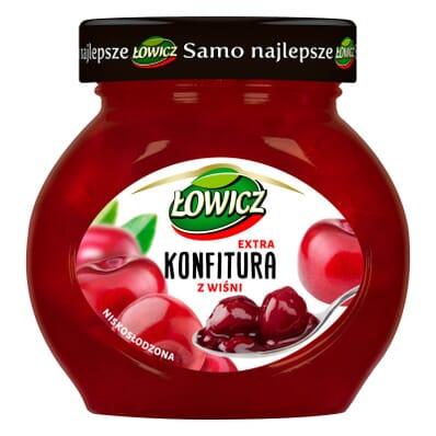Konfitura z wiśni Łowicz 240g