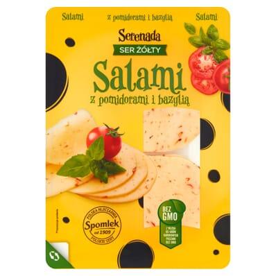 Ser żółty Serenada Salami 135g