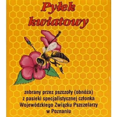 Pyłek pszczeli kwiatowy 100g Pasieka Józef Ślachetka