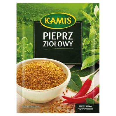 Przyprawa Pieprz ziołowy mielony Kamis 15g