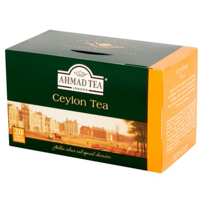 Herbata Ceylon Ahmad Tea 20 torebek