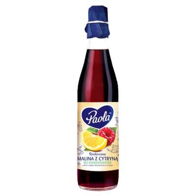 Raspberry and lemon syrup Paola 430ml