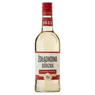 Zoladkowa gorzka Likör mit schwarzen Kirschen 30% 500ml