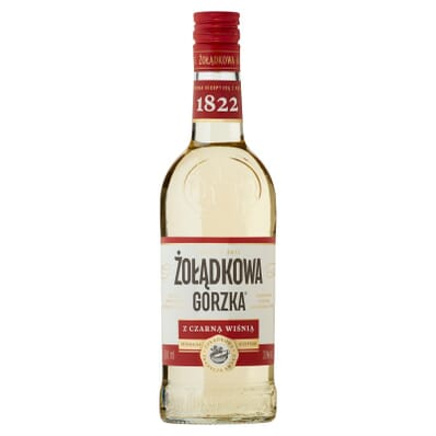 Zoladkowa gorzka liqueur with black cherry 36% 500ml
