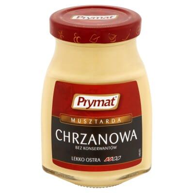 Horseradish mustard Prymat 185g