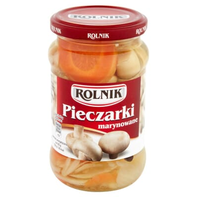Marinated champignons Rolnik 370ml