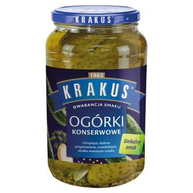 Pickled cornichons Krakus 865g