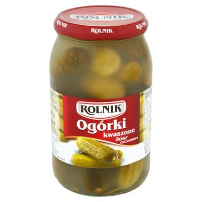 Pickled cornishons Rolnik 850g