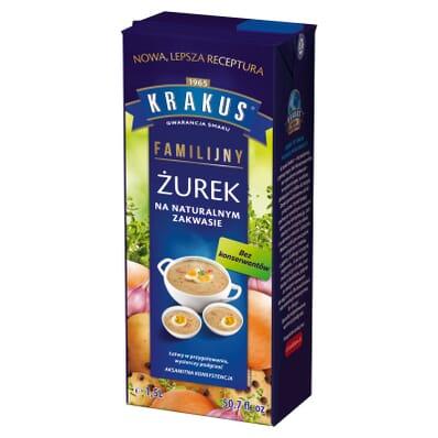 White borscht soup Krakus 1.5l