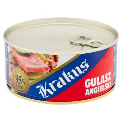 Gulasz angielski canned goulash Krakus 300g