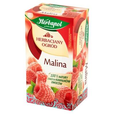 Raspberry tea Herbapol 20 bags