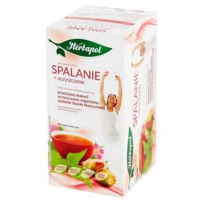 SlimFigura Spalanie slimming tea Herbapol 20 bags