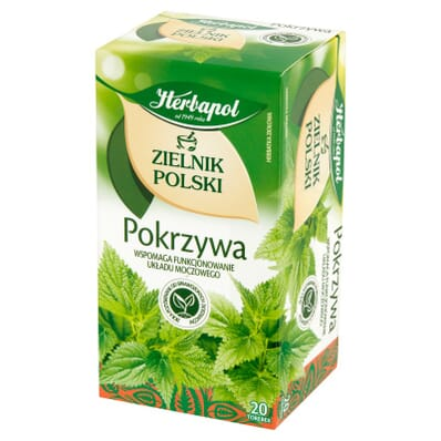Herbapol Zielnik Polski Brennnessel Aufguss 20 Beutel