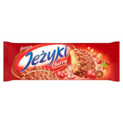 Jezyki Cherry biscuits Jutrzenka 140g