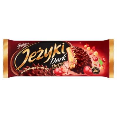 Jezyki Dark Cherry biscuits Jutrzenka 140g