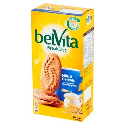 belVita Frühstückskekse Milch & Cerealien 300g