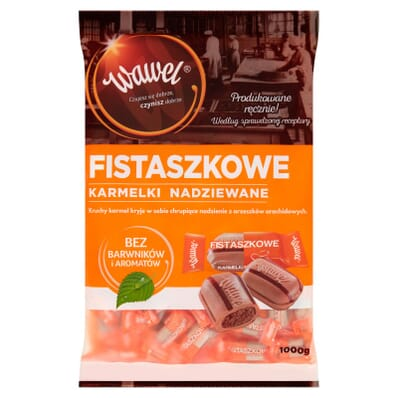Fistaszkowe sweets Wawel 100g (by weight)