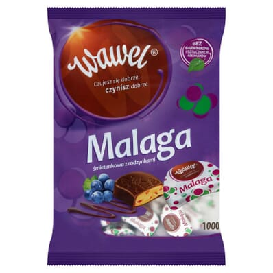 Cukierki Malaga Wawel 1kg