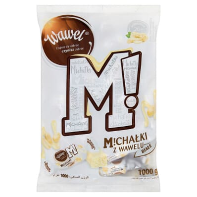 White Michalki sweets Wawel 100g (by weight)