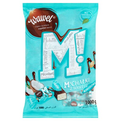 Michalki coconut sweets Wawel 100g (by weight)