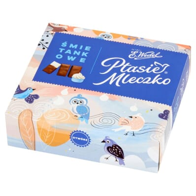 Ptasie mleczko cream sweets Wedel 380g