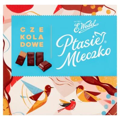 Ptasie mleczko chocolate sweets Wedel 380g