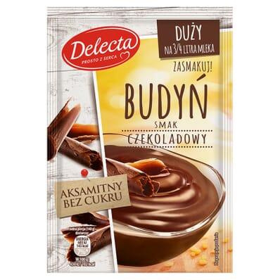 Aksamitny sugar-free chocolate pudding Delecta 64g