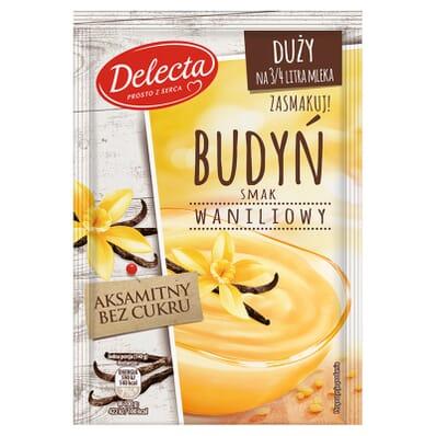 Delecta Pudding Vanille-Geschmack 64g