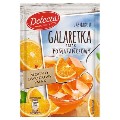 Orange jelly Delecta 75g