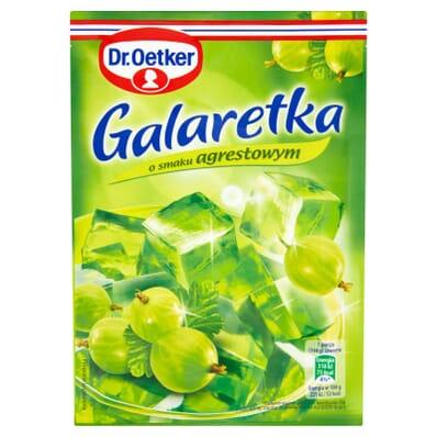Gooseberry jelly Dr. Oetker 77g