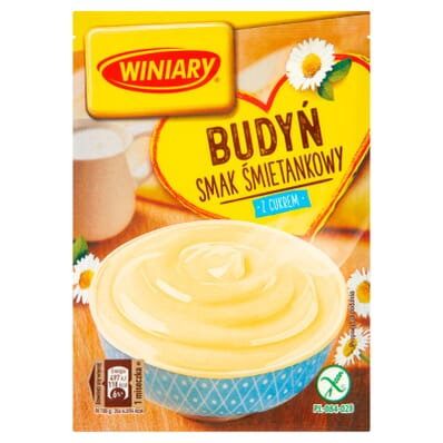 Cream pudding with sugar Winiary 60g