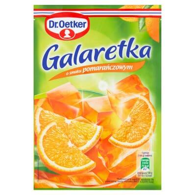Orange jelly Dr. Oetker 77g
