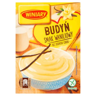 Sugar-free vanilla pudding Winiary 35g