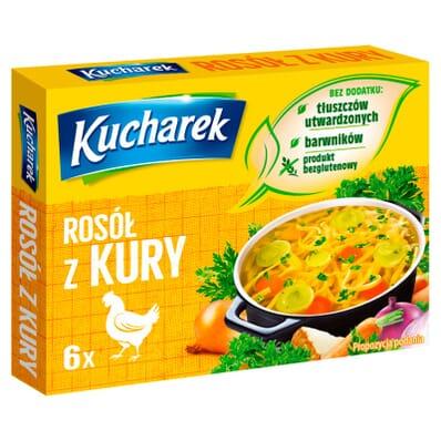 Kucharek Gewürzmischung für Hähnchenbrühe 6 Würfel 60g