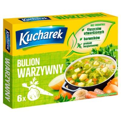 Vegetable broth spice mix Kucharek 6 cubes 60g